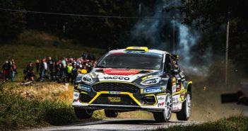 Erik Cais Jindřiška Žáková Barum Czech Rally Zlín 2021