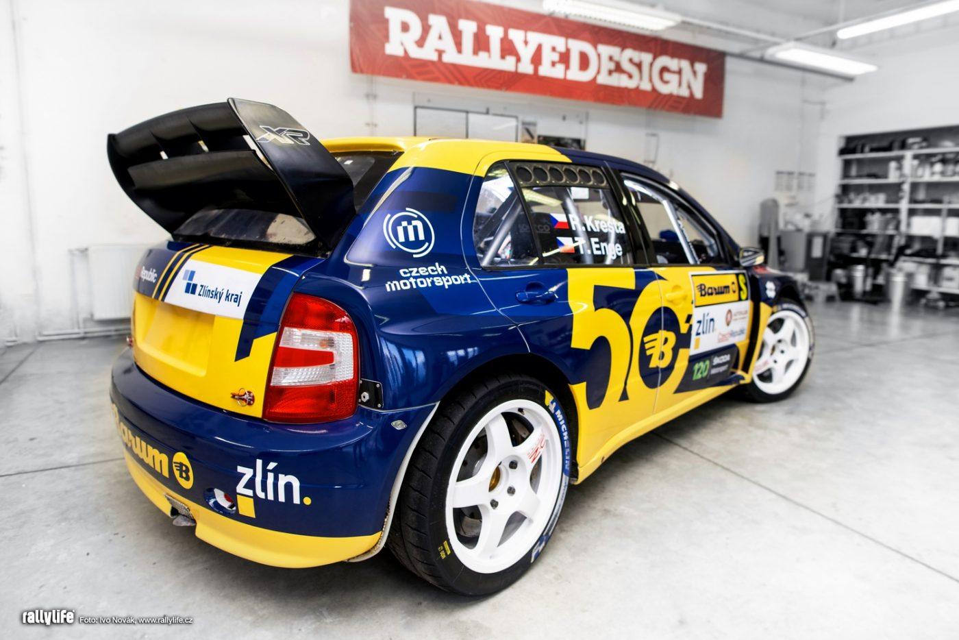 """Škoda Fabia WRC """"Barum"""""""