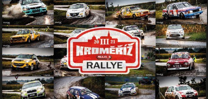 III. Rallye Kroměříž 2021 – divácký průvodce + mapy